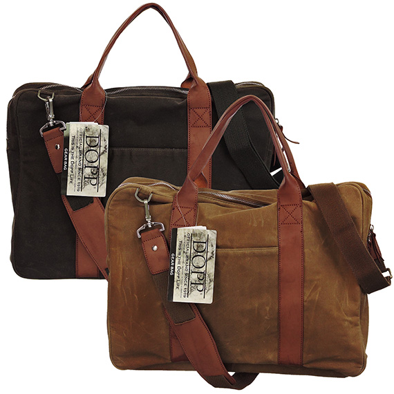 Canvas Brief Gear Bag 2 Asst