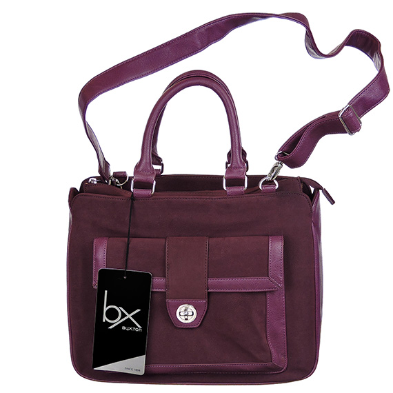 Newbury Tote Eggplant 13 Inch Laptop Bag