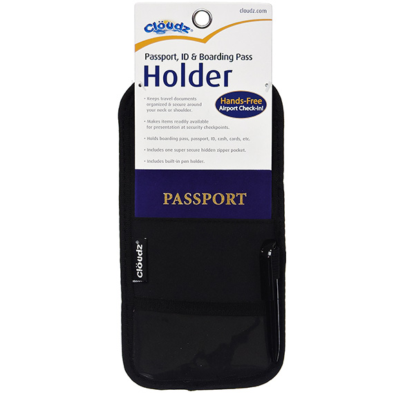 Cloudz Passport, ID & Boarding Pass Holder
