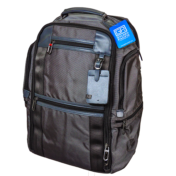 Excalibur Backpack 17 Inch Grey Trim Durable Nylon