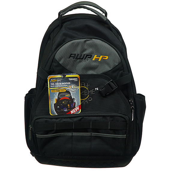 Tool Center Heavy Duty Backpack - Tested Up To 75 Pounds