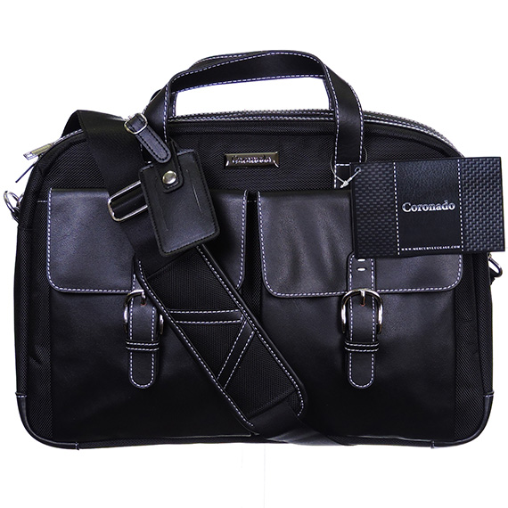Portable Computor Bag - Coronado - Black