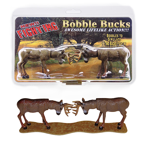 Bobble Head Fighting Bucks