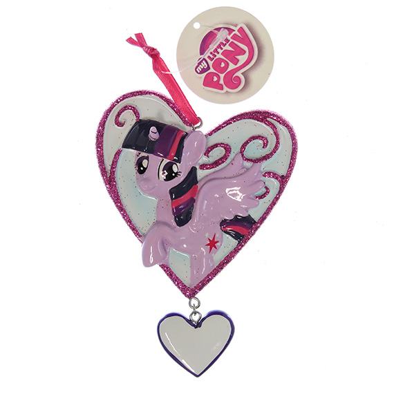 Ornament Licensed Little Pony Twilight Sparkle Heart