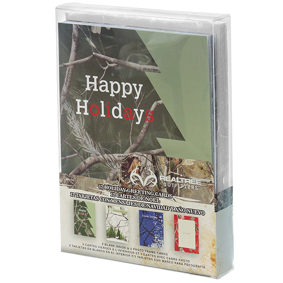 Greeting Cards Happy Holidays 12ct Realtree®