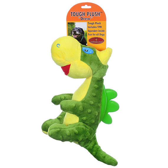 Ridgeback Dragon X-Large Chew Toy W/Squeaker For Dogs