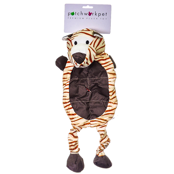 Wild Tiger 23 inch Plush Pet Toy