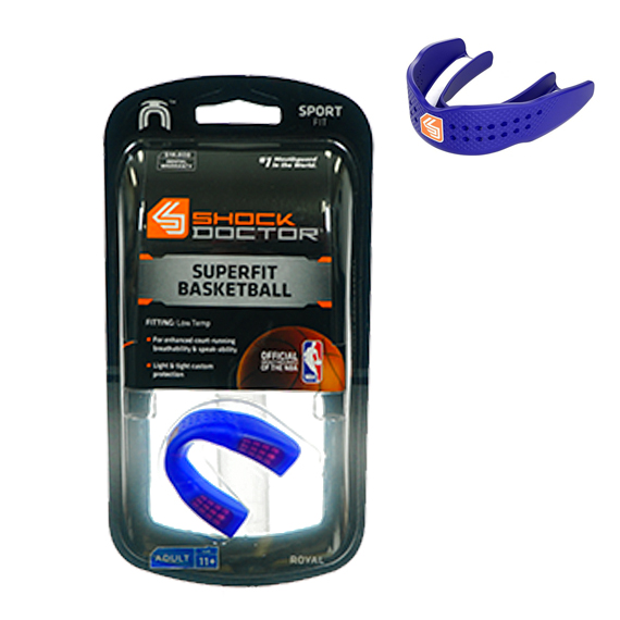 Mouth Guard SuperFit Basketball S/less Ryl A