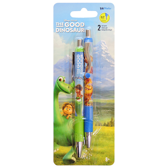 Pens Gel The Good Dinosaur 2pk