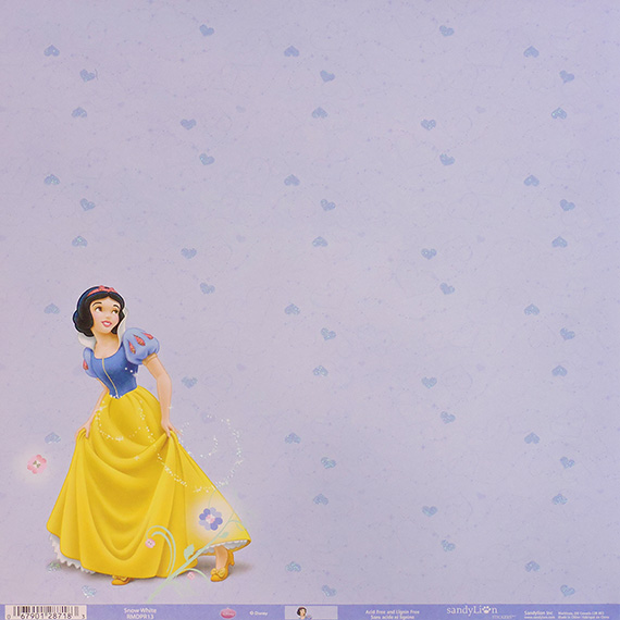 Scrapbook Paper 12x12 Snow White 25pk
