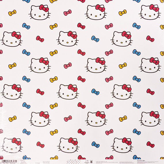 Scrapbook Paper 12x12 Hello Kitty 25pk