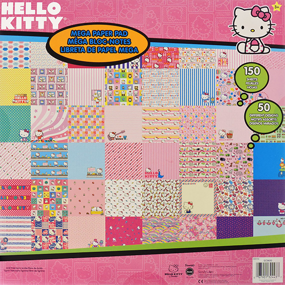 Scrapbook Paper Pad 12x12 Hello Kitty 150pk