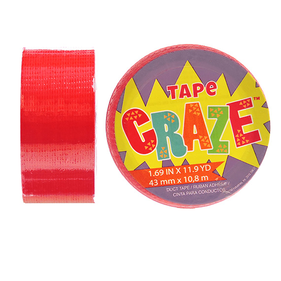 Tape Craze Red 11.9 yards