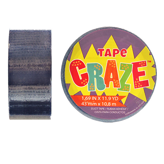 Tape Craze Navy 11.9 yards