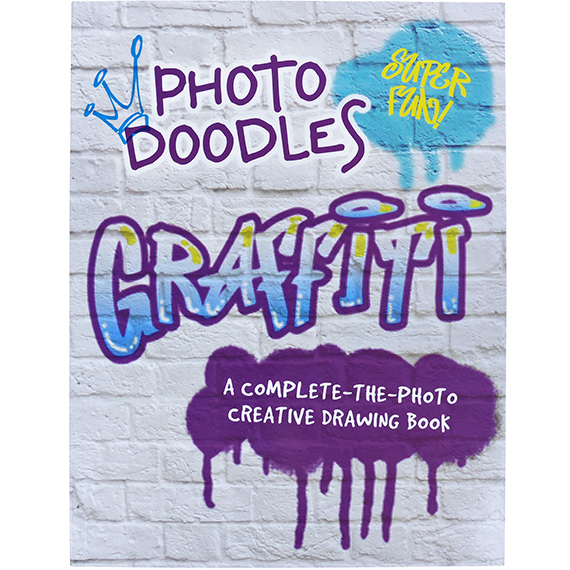 Drawing Book Photo Doodles Graffiti Complete the Photo