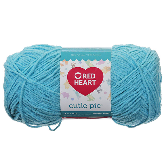 Red Heart Cutie Pie Splash Yarn - 3.5 oz.