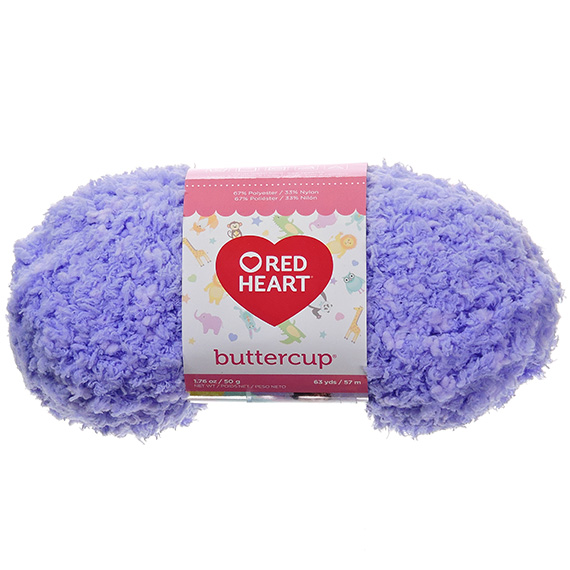 Red Heart Buttercup Sugar Plum Yarn - 1.75 oz.