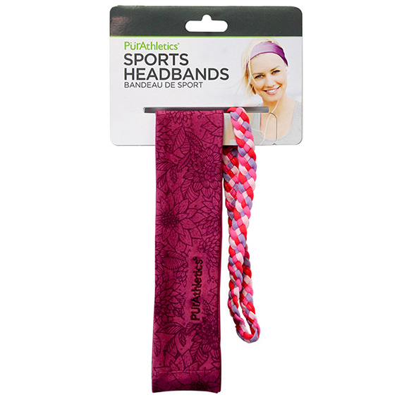 Dual Sports Headband - 2 Sizes In One Set