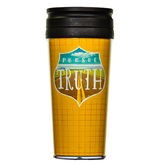 Pursue Truth Travel Mug