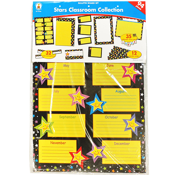 Bulletin Board Set Stars Classroom Collection