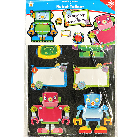 Bulletin Board Set Robot Talkers