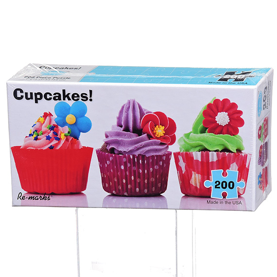Re-Marks Puzzle - 200 Pc Pano Cupcake