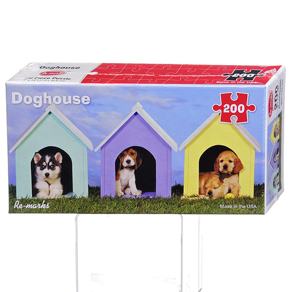 Re-Marks Puzzle - 200 Pc Pano Doghouse