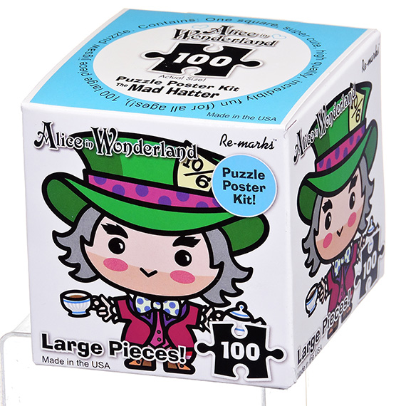 Re-Marks Puzzle - 100 Pc Mad Hatter