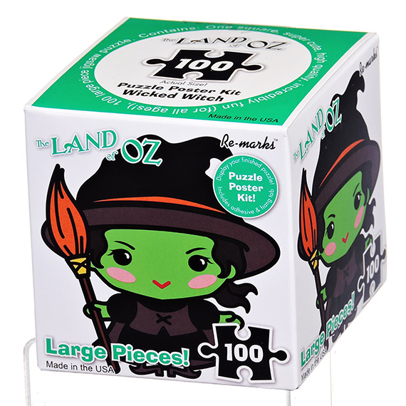 Re-Marks Puzzle - 100 Pc Wicked Witch