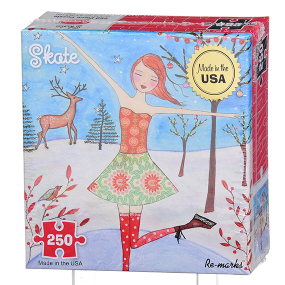 Re-Marks Puzzle - 250 Pc Luna Skate