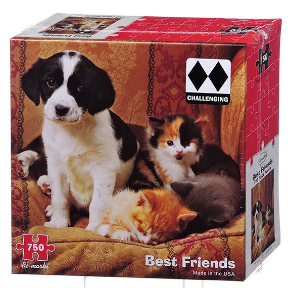 Re-Marks Puzzle - 750 Pc Best Friends