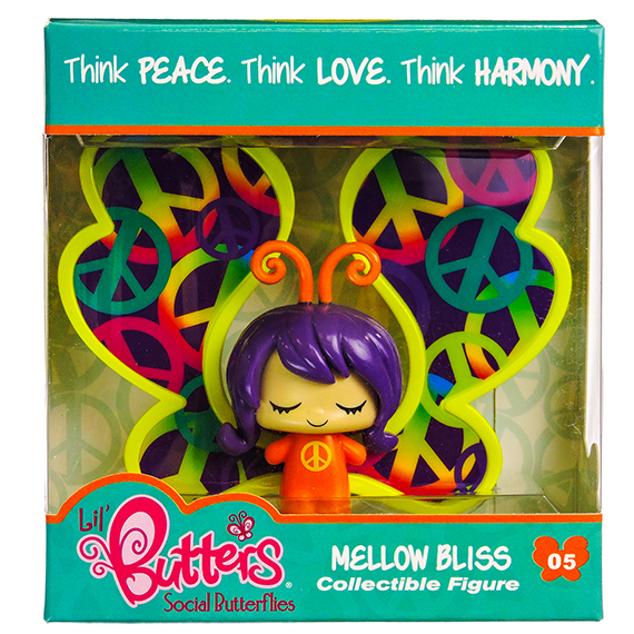 Lil Butters Collectible Figures 05 Mellow Bliss S1-No Online
