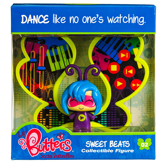 Lil Butters Collectible Figures 02 Sweet Beats S1 -No Online