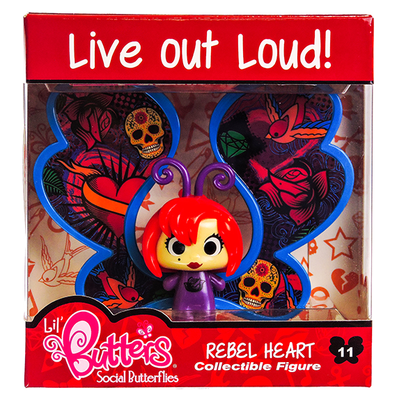 Lil Butters Collectible Figures 11 Rebelheart S2 -No Online