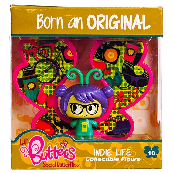 Lil Butters Collectible Figures 10 Indie Life S2 -No Online