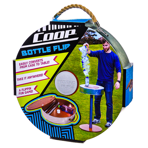 Bottle Flip portable outdoor game