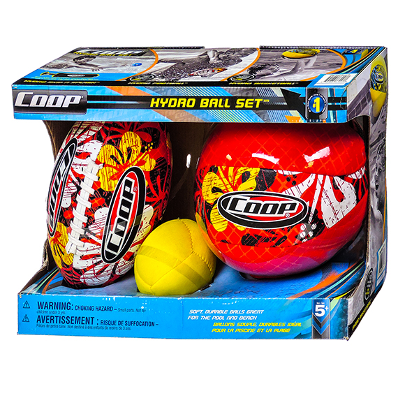 Coop Hydro 3 Ball Set