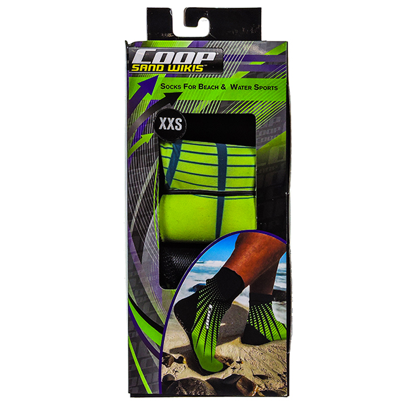 Sand Wikis Socks for beach and water sports Size XXS