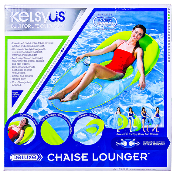 Deluxe Chaise Lounger float