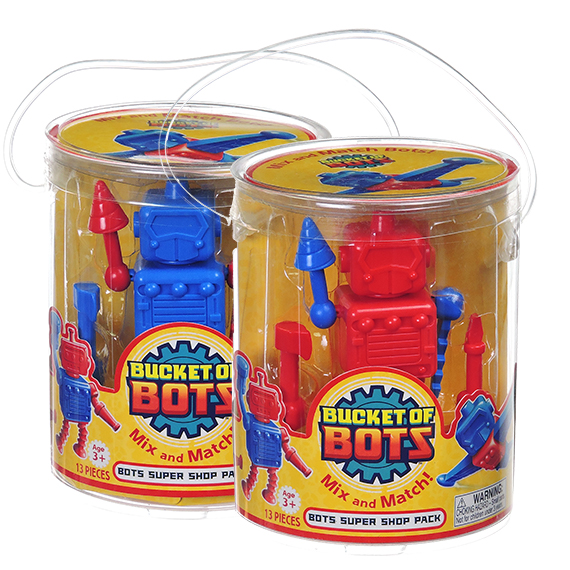 Bucket of Bots Super Shop Pack 13 pcs