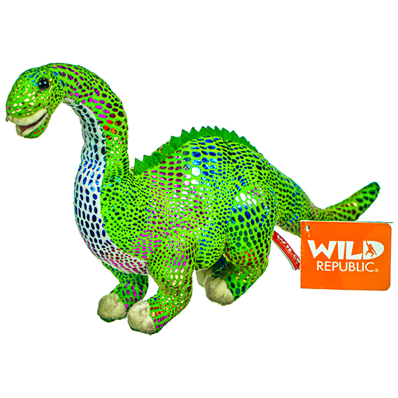 Glitter Medium Diplodocus Stuffed Toy