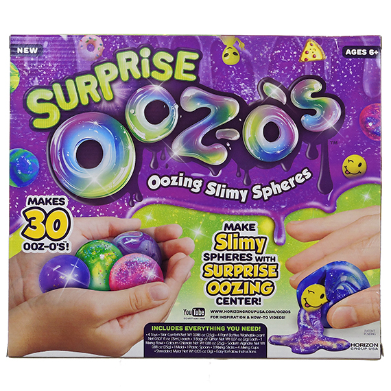 Surprise Ultimate Ooz-O'S oozing slimy spheres