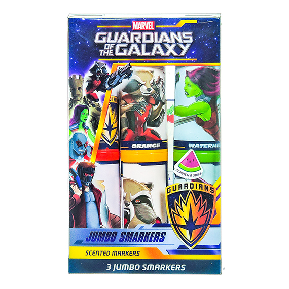 Marvel Guardians Of The Galaxy Jumbo Smarkers set of 3