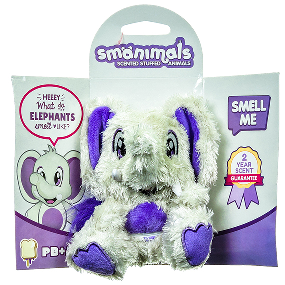 Smanimals PBJ scented – Elephant