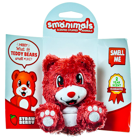 Smanimals Strawberry scented – Teddy Bear