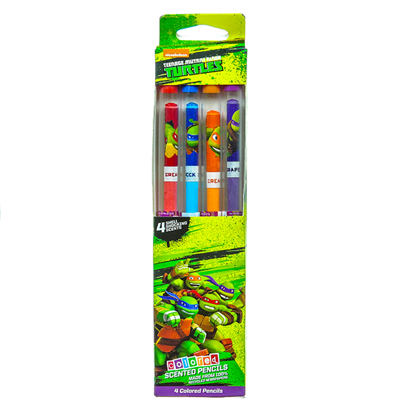 TMNT Colored Smencils (Set Of 4)