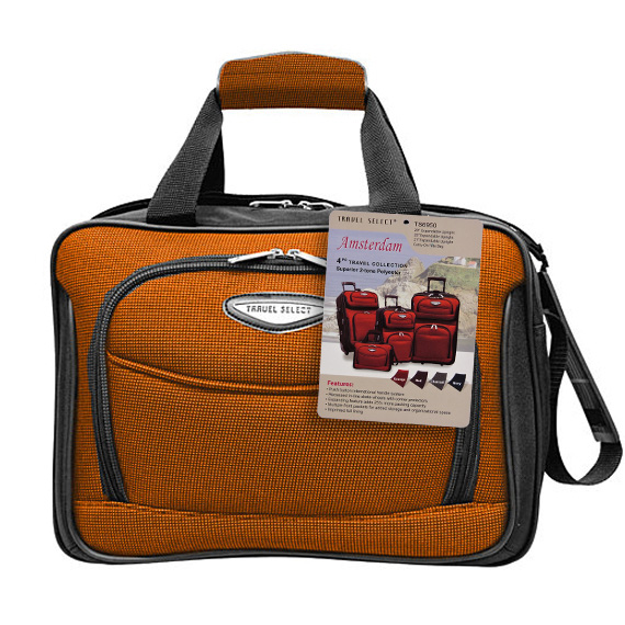 Carry On Tote Bag Orange